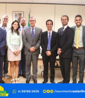 Ministro De Minas de Energia Bento Albuquerque Recebe Lideranças do Movimento Solar Livre