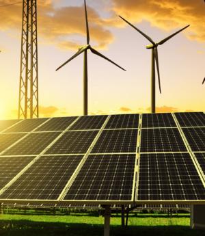 Empresas apostam em energia solar e eólica