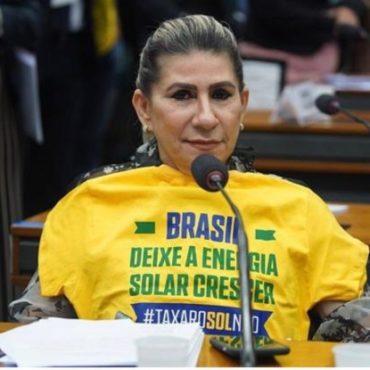 Deputada Edna Henrique pede urgência na votação de Projeto que regulamenta a distribuição de energia solar