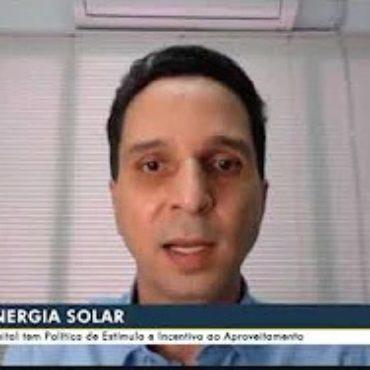 Campo Grande – MS tem Política de Estímulo e Incentivo ao Aproveitamento da energia solar