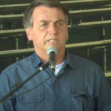 """""""O Sol não será taxado"""", afirma Bolsonaro durante inauguração de usina solar em Caldas Novas (GO)"""