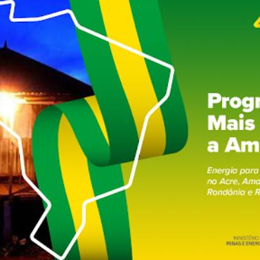 Governo assina primeiro contrato do Mais Luz para a Amazônia